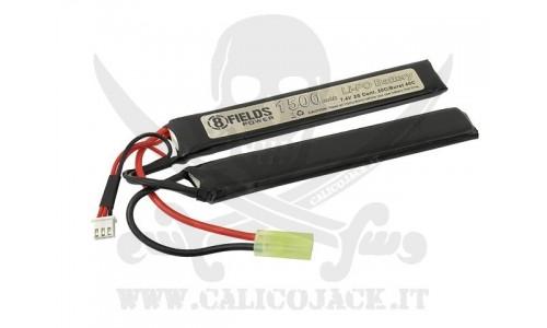 BATTERIA Li-Po 7,4V 1500mAh 20/40C