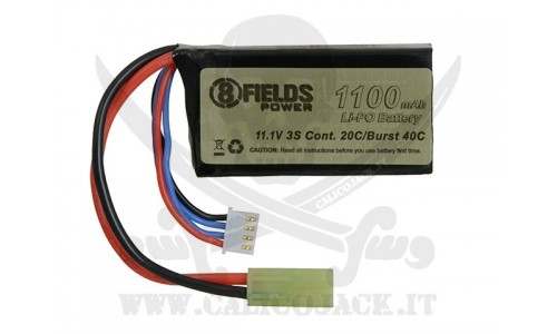 BATTERY Li-Po 11,1V 1100mAh 20/40C