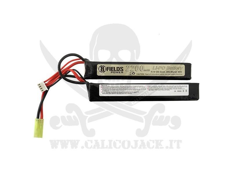BATTERIA SDOP. Li-Po 11,1V 2200mAh 20/40C