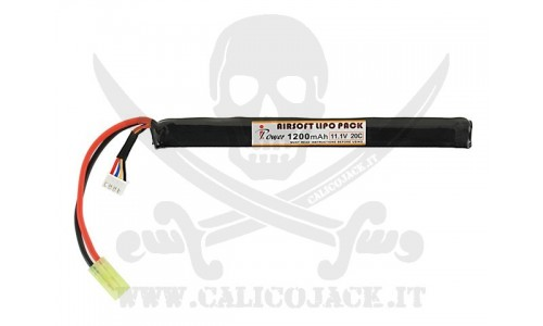 BATTERY AK Li-Po 11,1V 1200mAh 20C