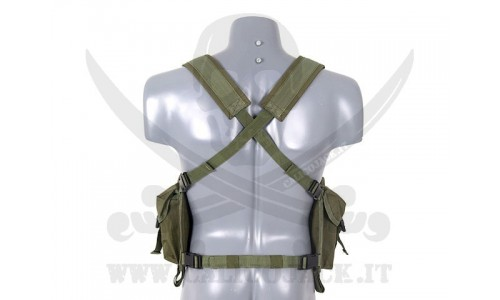 CHEST RING AK GREEN