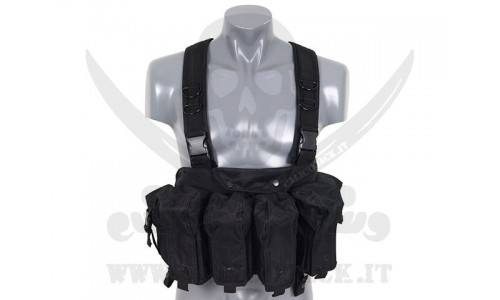 CHEST RING AK BLACK