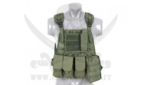 PLATE CARRIER HARNESS GREEN