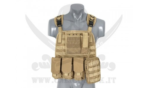 PLATE CARRIER HARNESS COYOTE