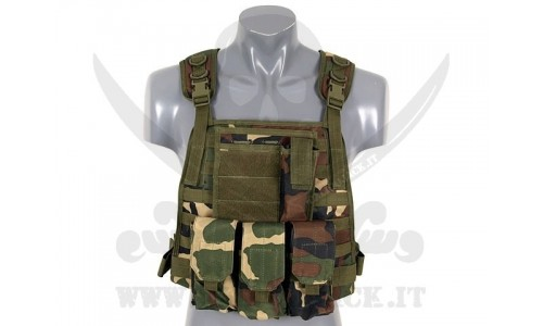 PLATE CARRIER HARNESS WOODLAND