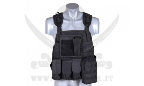 PLATE CARRIER HARNESS BLACK