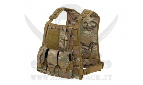 PLATE CARRIER HARNESS MULTICAM