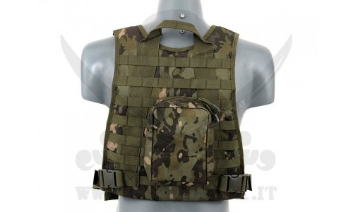 PLATE CARRIER HARNESS MULTICAM TROPIC