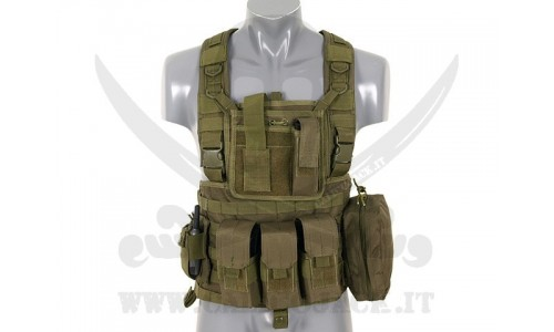 COMMANDO RECON CHEST HARNESS GREEN