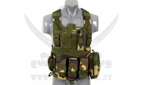 COMMANDO RECON CHEST WOODLAND