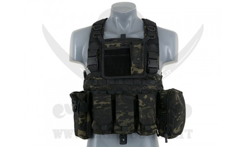 COMMANDO RECON CHEST MULTICAM BLACK