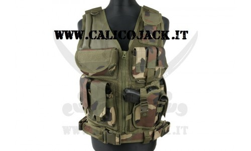 TACTICAL VEST WOODLAND