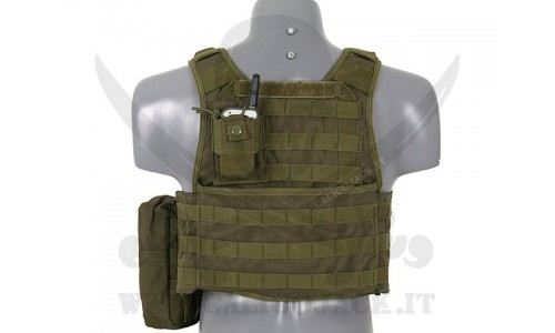 PLATE CARRIER ASSAULT GREEN