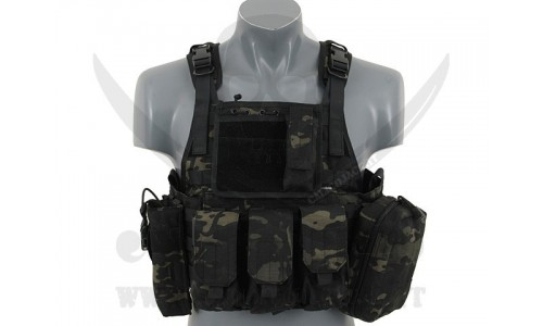 PLATE CARRIER ASSAULT MULTI.BLACK