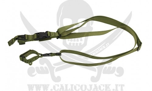 3 POINTS TACTICAL SLING GREEN