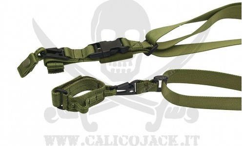 TRACOLLA BUNGEE A 3 PUNTI VERDE