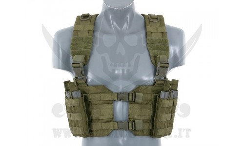 SPLIT FRONT CHEST HARNESS OD
