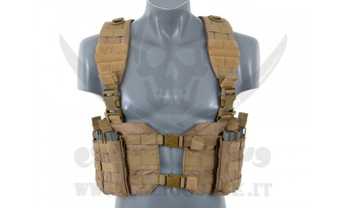 SPLIT FRONT CHEST HARNESS COYOTE