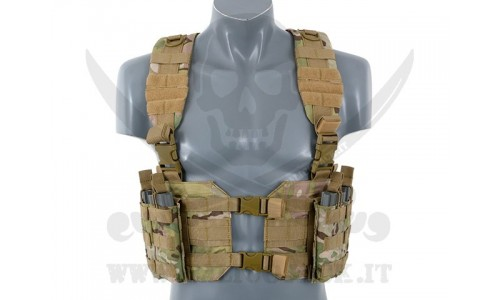 SPLIT FRONT CHEST MULTICAM