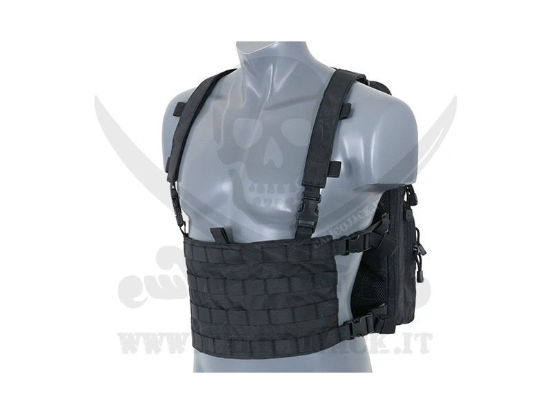 CHEST BACKPACK BLACK