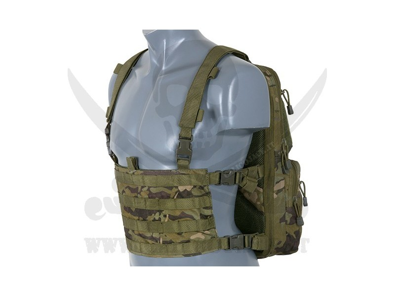 CHEST BACKPACK MULTICAM TROPIC