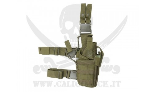 2-WAYS TACTICAL HOLSTER GREEN