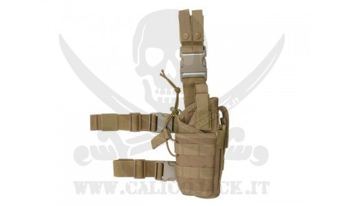 2-WAYS TACTICAL HOLSTER COYOTE