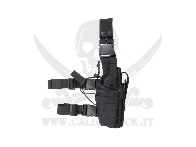 2-WAYS TACTICAL HOLSTER BLACK
