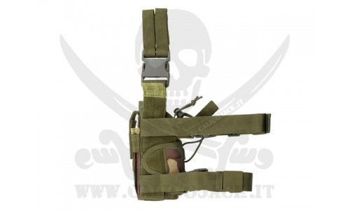 2-WAYS TACTICAL HOLSTER WOOD