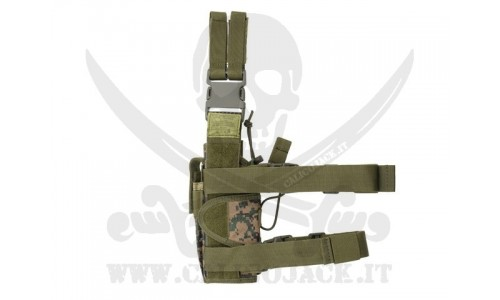 2-WAYS TACTICAL HOLSTER DIGITAL WOOD