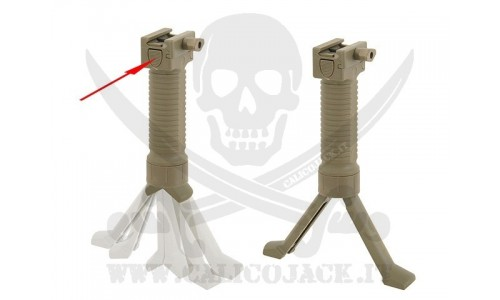 BIPOD VERTICAL GRIP COYOTE