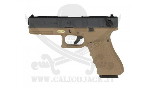 WE GLOCK G18C GEN.4 GAS/CO2 TAN