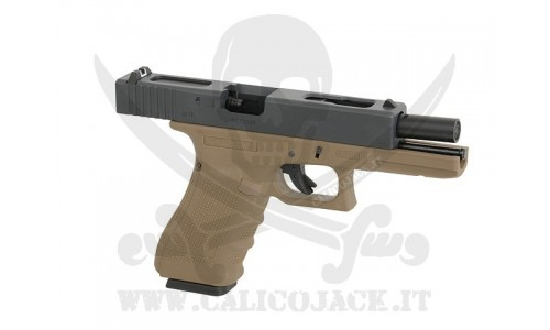 WE GLOCK G18C GAS/CO2 TAN