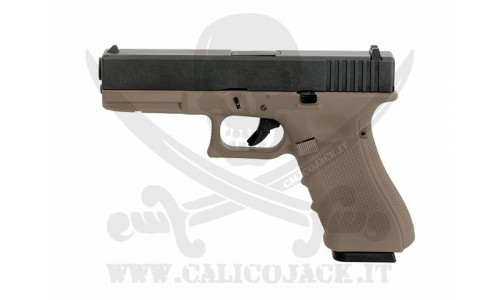 GLOCK G17 GEN.4 GAS/CO2 TAN