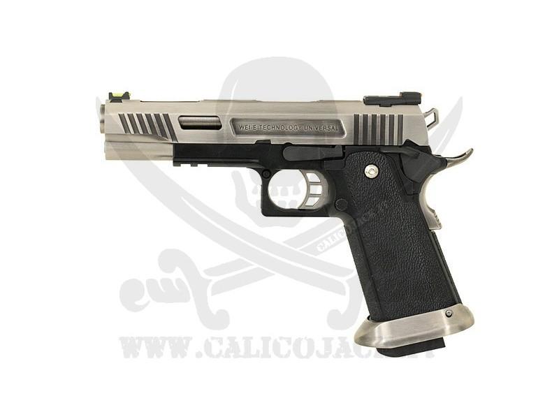 WE HI-CAPA 5.1 FORCE T.REX SILVER