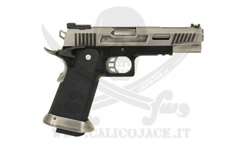 WE HI-CAPA 5.1 FORCE T.REX SILVER