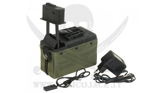 A&K 1500BB M249 OD
