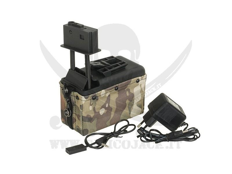 A&K 1500BB M249 MULTICAM