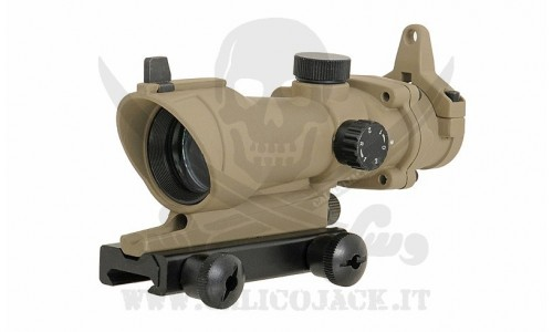 DOT SIGHT ACOG TA01 NSN COYOTE