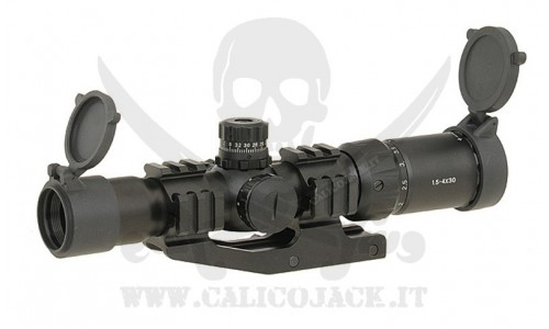 1.5-4x30 WITH MOUNT
