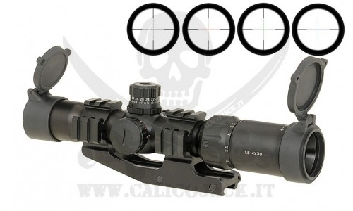 SCOPE 1.5-4x30 WITH MOUNT