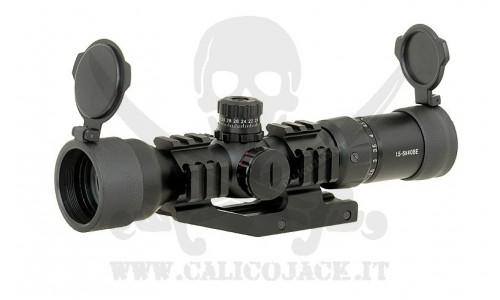 SCOPE 1.5-5x40 WITH MOUNT