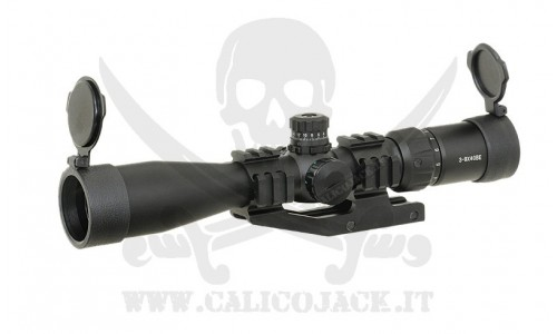 SCOPE 3-9X40 WITH MOUNT
