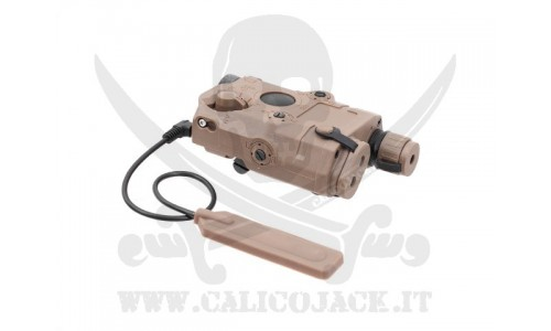 AN/PEQ-15 FLASHLIGHT+LASER COYOTE