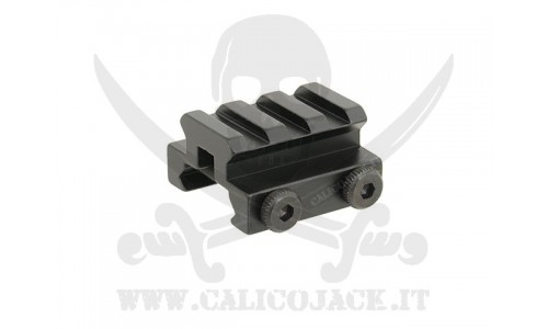 FLAT TOP RAIL MOUNT 1CM