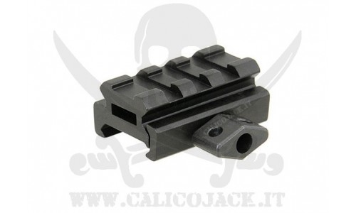 FLAT TOP RAIL MOUNT 1CM V2