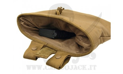 ROLL-UP DUMP POUCH COYOTE
