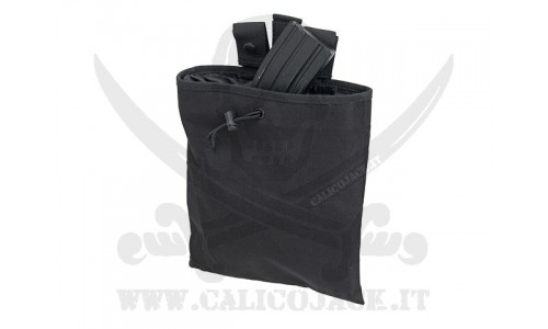 ROLL-UP DUMP POUCH BLACK
