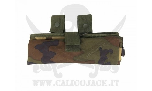 ROLL-UP DUMP POUCH WOOD