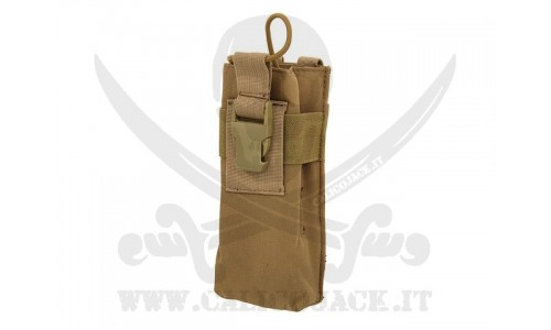 RADIO POUCH BIG COYOTE